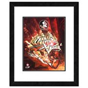 Florida State Seminoles Helmet Framed 11' x 14' Photo