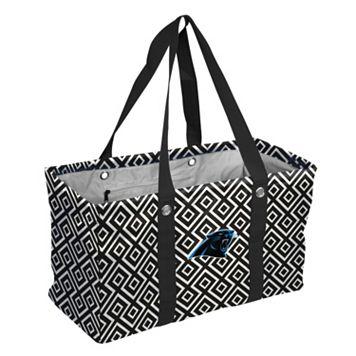 Logo Brand Carolina Panthers Diamond Picnic Caddy