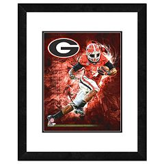 Georgia Bulldogs Action Shot Framed 11' x 14' Photo
