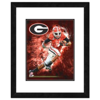 "Georgia Bulldogs Action Shot Framed 11"" x 14"" Photo"