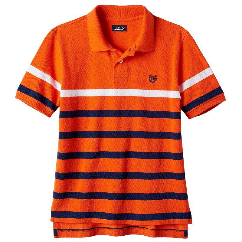 Boys 8-20 Chaps Striped Polo
