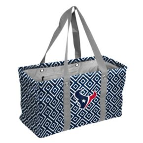 Logo Brand Houston Texans Diamond Picnic Caddy