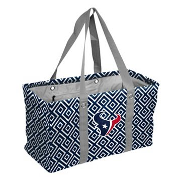 Logo Brand Houston Texans Diamond Picnic Caddy