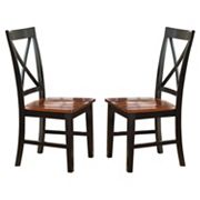 Branton Home Kingston Dining Chair 2 pc Set