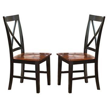 Branton Home Kingston Dining Chair 2-piece Set