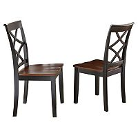 Branton Home Rani Dining Chair 2-piece Set