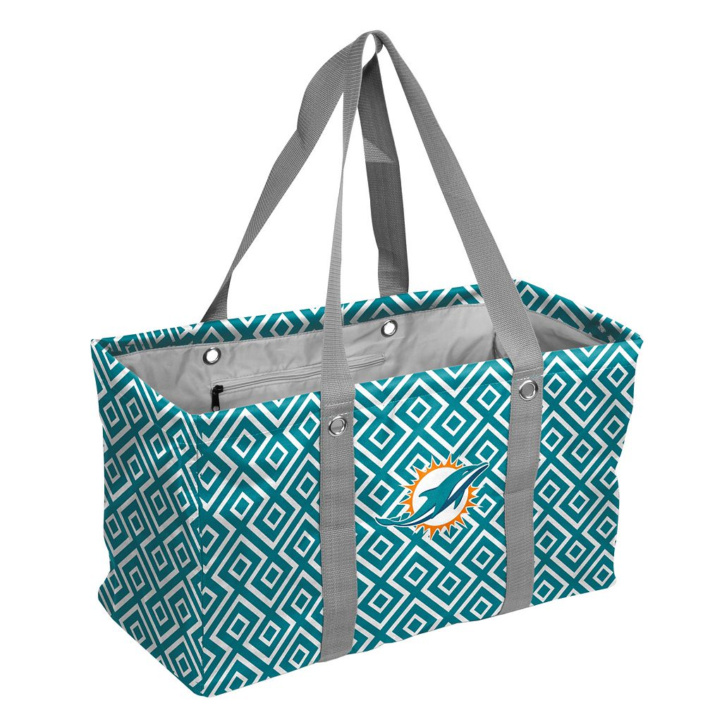 Logo Brand Miami Dolphins Diamond Picnic Caddy