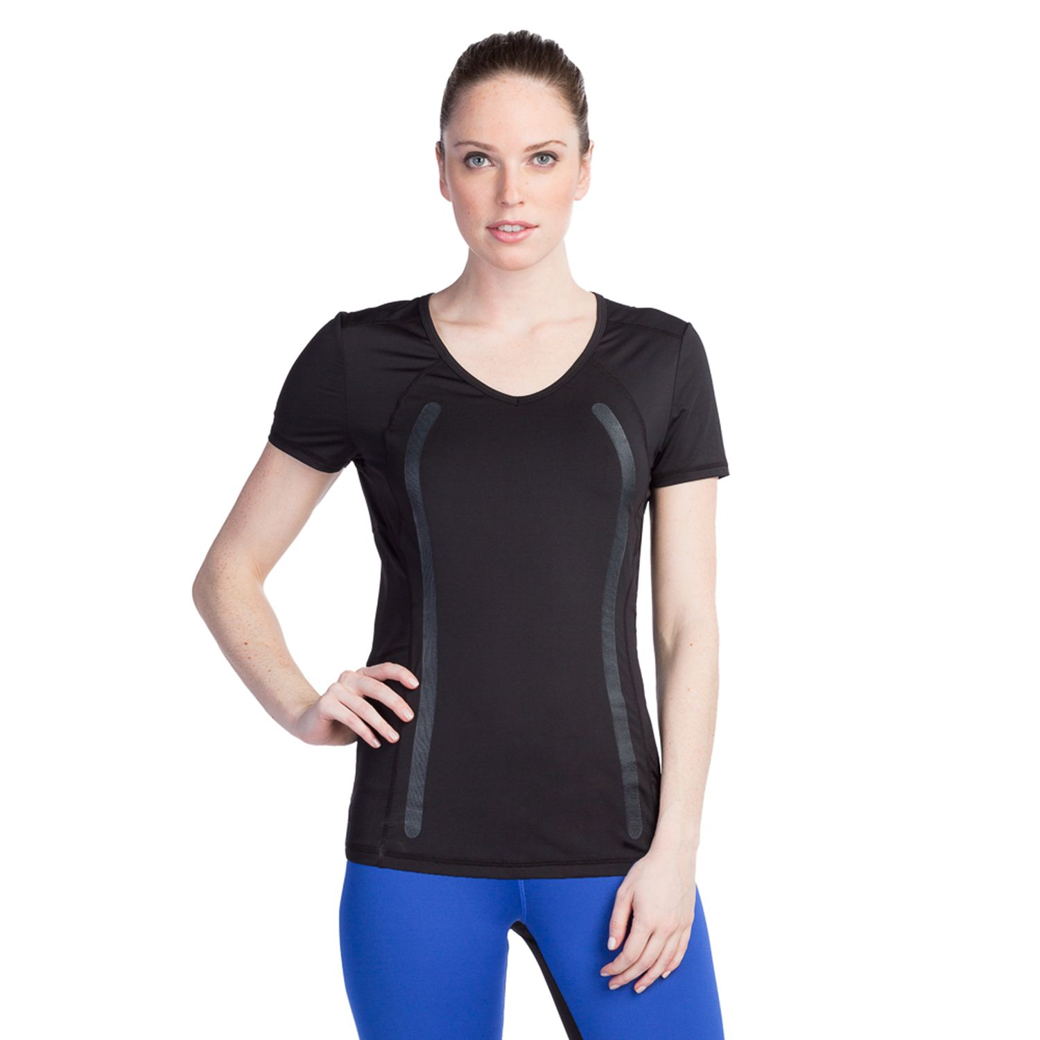 Womens Pro Series by Kyodan V-Neck Running Tee