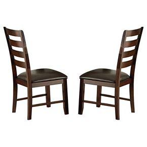Branton Home Sao Paulo Dining Chair 2-piece Set