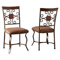 Branton Home Toledo Dining Chair 2-piece Set