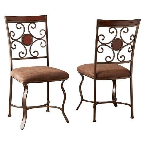 Branton Home Toledo Dining Chair 2-piece Set