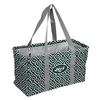 Logo Brand New York Jets Diamond Picnic Caddy