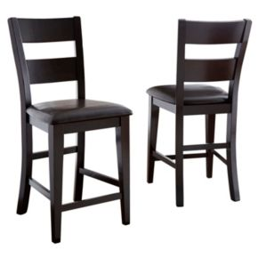 Branton Home Victoria Counter Chair 2-piece Set