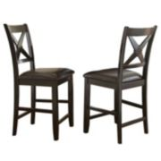 Branton Home Violante Counter Chair 2-piece Set