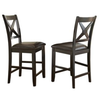 Branton Home Violante Counter Chair 2-piece Set