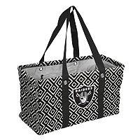 Logo Brand Oakland Raiders Diamond Picnic Caddy