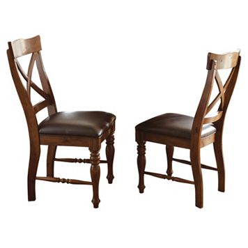 Branton Home Wyndham Dining Chair 2-piece Set