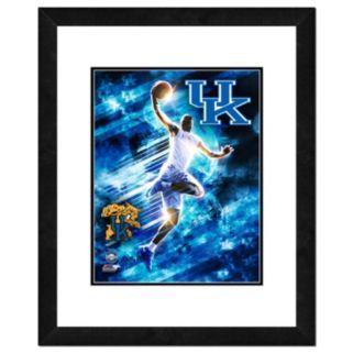 """Kentucky Wildcats Action Shot Framed 11"""" x 14"""" Photo"""