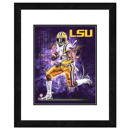 LSU Tigers Action Shot Framed 11