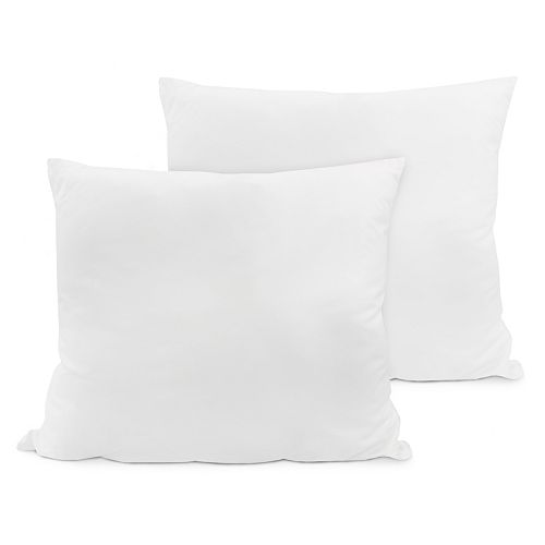 SensorPEDIC 2-pack Euro Square Pillows