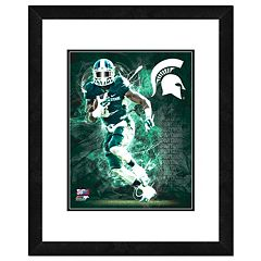 Michigan State Spartans Action Shot Framed 11' x 14' Photo