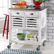 Linon Robbin Kitchen Cart