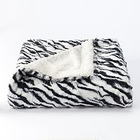 VCNY Animal Faux Fur Throw