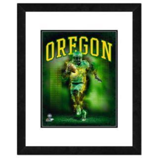 "Oregon Ducks Action Shot Framed 11"" x 14"" Photo"