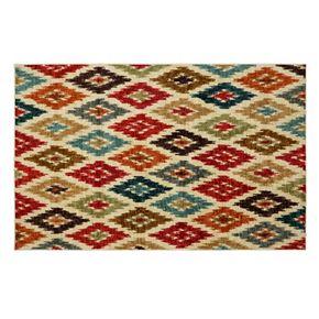 Mohawk® Home Carnival Ikat Geometric Rug