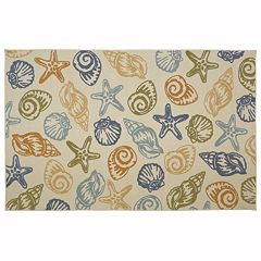 Mohawk® Home Scattered Seashells Rug