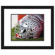 "Ohio State Buckeyes Helmet Framed 11"" x 14"" Photo"