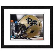 Pitt Panthers Helmet Framed 11' x 14' Photo