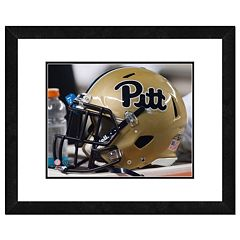 Pitt Panthers Helmet Framed 11' x 14' Photo