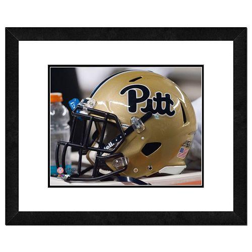 Pitt Panthers Helmet Framed 11