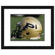 Purdue Boilermakers Helmet Framed 11' x 14' Photo