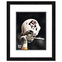 Texas A&M Aggies Helmet Framed 11' x 14' Photo