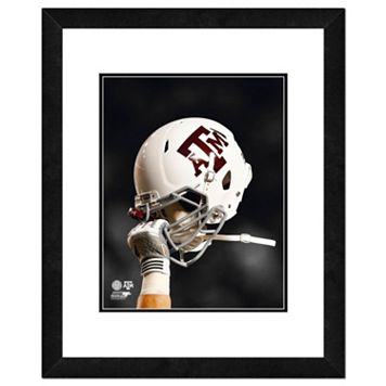 Texas A&M Aggies Helmet Framed 11