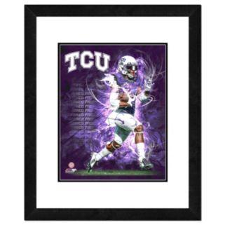 "TCU Horned Frogs Action Shot Framed 11"" x 14"" Photo"