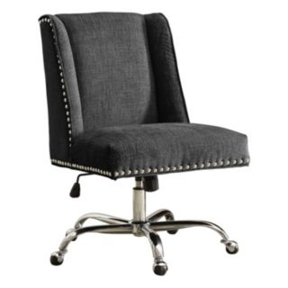 Linon Draper Office Desk Chair