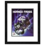"TCU Horned Frogs Helmet Framed 11"" x 14"" Photo"