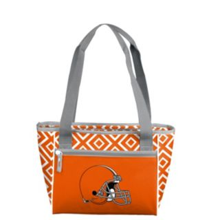 Logo Brand Cleveland Browns 16-Can Diamond Cooler Tote