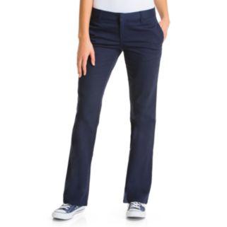 Juniors' Lee Uniforms Original Bootleg Pants