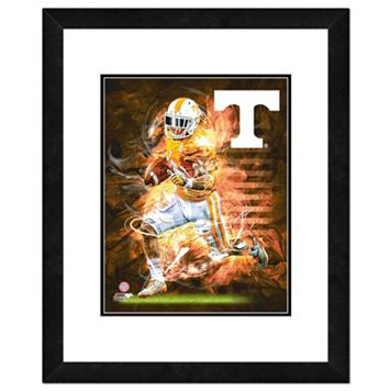 Tennessee Volunteers Action Shot Framed 11