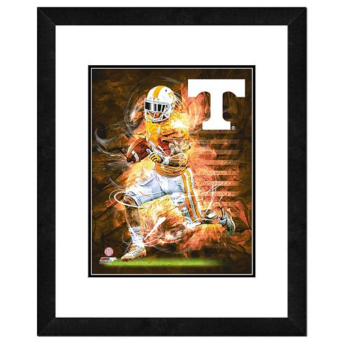 "Tennessee Volunteers Action Shot Framed 11"" x 14"" Photo"