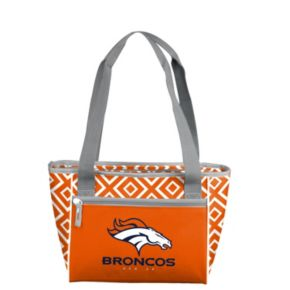 Logo Brand Denver Broncos 16-Can Diamond Cooler Tote