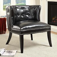 Linon Saphire Tufted Accent Chair