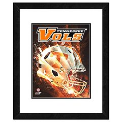 Tennessee Volunteers Helmet Framed 11' x 14' Photo