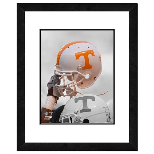 Tennessee Volunteers Helmet Framed 11