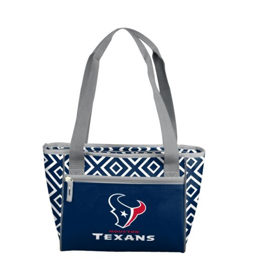 Logo Brand Houston Texans 16-Can Diamond Cooler Tote