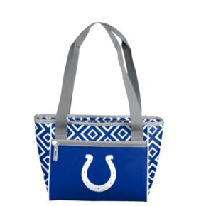 Logo Brand Indianapolis Colts 16-Can Diamond Cooler Tote